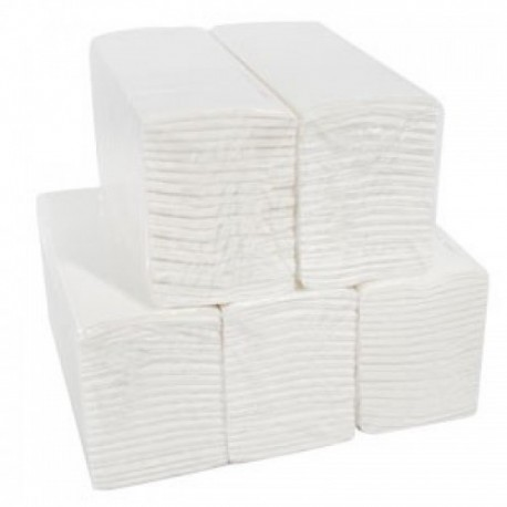 C-Fold Luxury Hand Towel 2Ply White