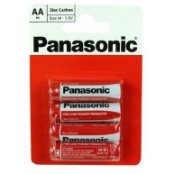 AA Panasonic Zinc Carbon Battery (1x4)