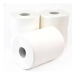 56192 - Centrefeed Roll 2Ply White 1x6 150m