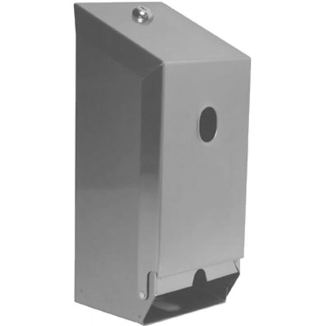Double Toilet Roll Metal Dispenser