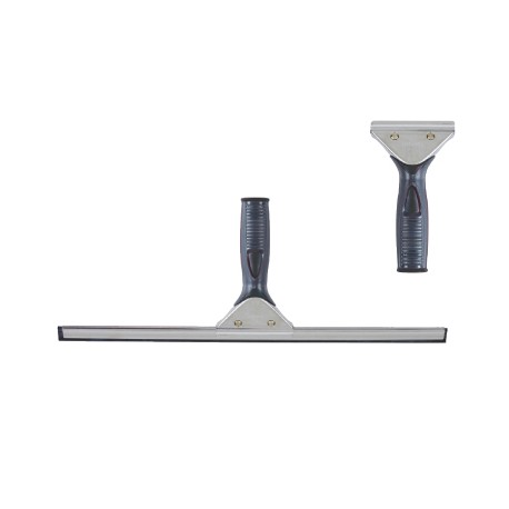 Silver band squeegee complete 35cm