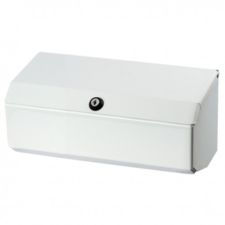 BC770 Dolphin White Metal Couch Roll Dispenser