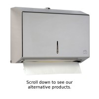 BC918 Dolphin Stainless Steel Mini Paper Towel Dispenser