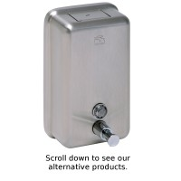 Satin Vertical Soap Dispenser