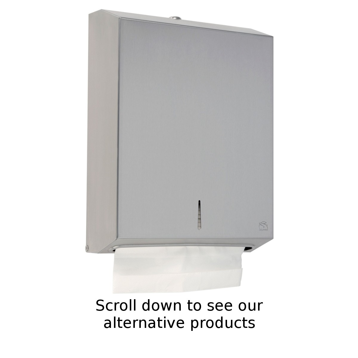 dolphin bc928 stainless steel maxi paper towel dispenser - Paper Towel Dispenser