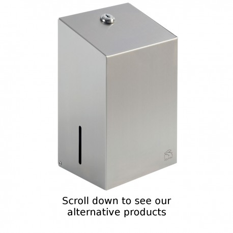 Stainless Steel Bulk Pack Toilet Tissue Dispenser
