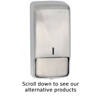 BC4305 Dolphin White Metal Bulk Pack Tissue Dispenser