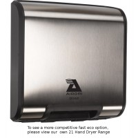 Airdri Quad Hand Dryer Brushed Steel