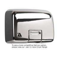 Airdri Quarto Hand Dryer Chrome