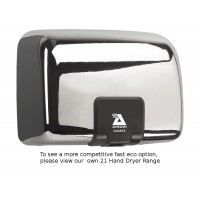 Airdri Quartz Hand Dryer Chrome