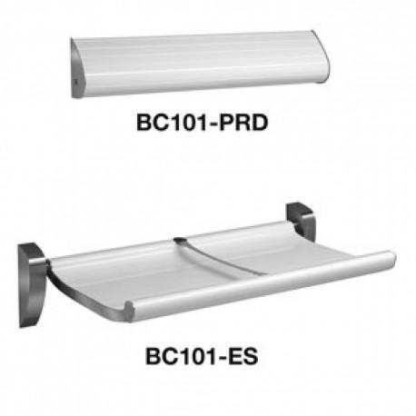 Dolphin BC101ES Prestige Titan Changing Unit and Liner Roll Dispenser