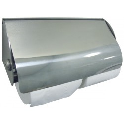 Dolphin BC267 Double Stainless Steel Lockable Toilet Paper Dispenser