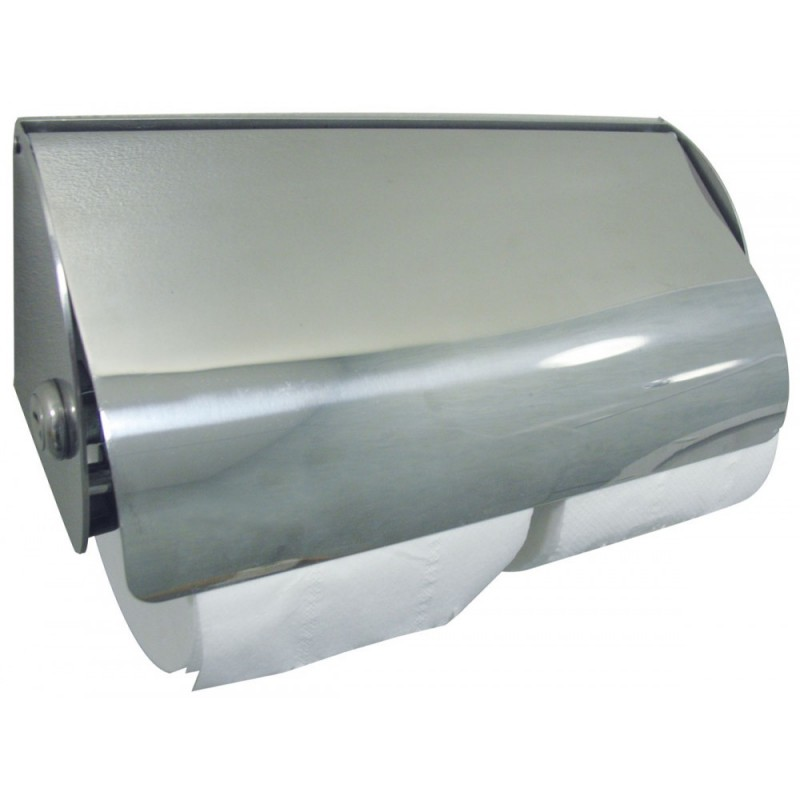 Dolphin bc267 double stainless steel lockable toilet paper dispenser - Stainless steel toilet paper dispenser ...