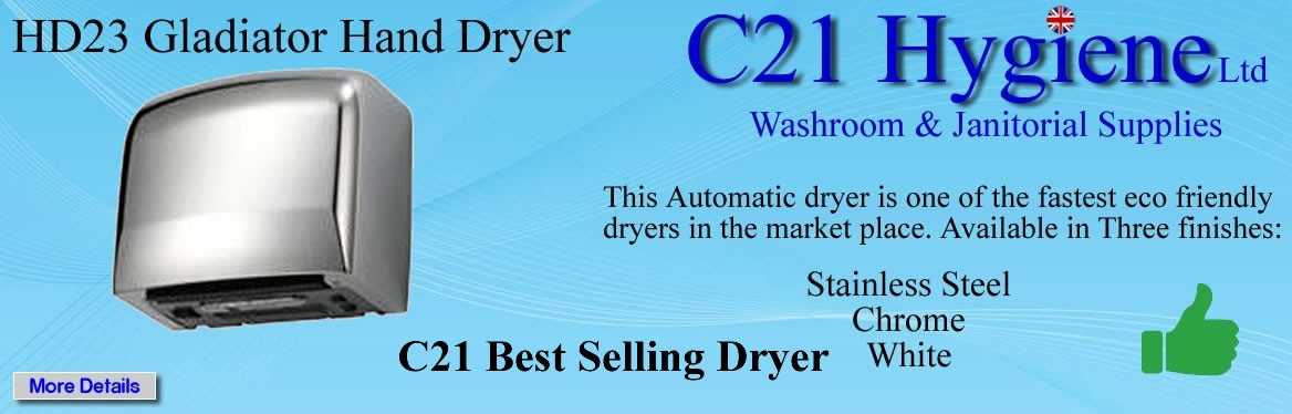 This is one of the fastest, automatic, Eco friendly dryers in the market place.